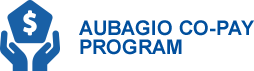 AUBAGIO's no cost, $0 co-pay program.