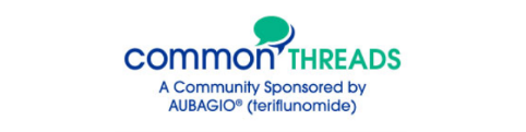 Common Threads, a supportive relapsing MS community sponsored by AUBAGIO®.